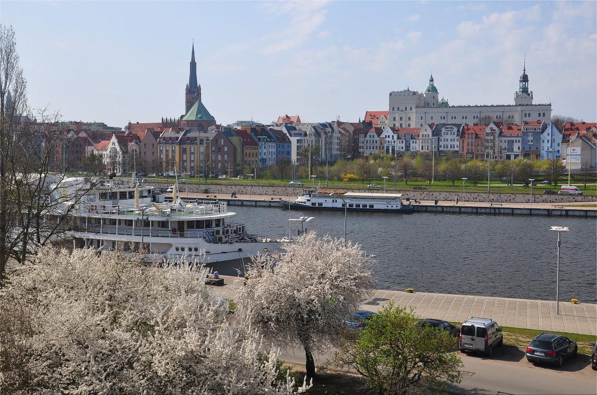 Zdjęcia: Szczecin, zachodniopomorskie, Panorama Szczecina, POLSKA