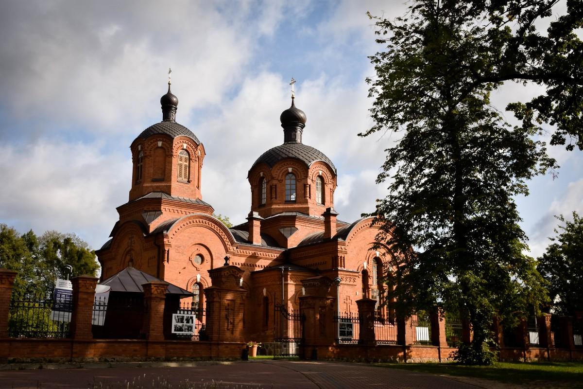 Zdjęcia: Białowieża, Podlasie, Cerkiew Św. Mikołaja w Białowieży, POLSKA