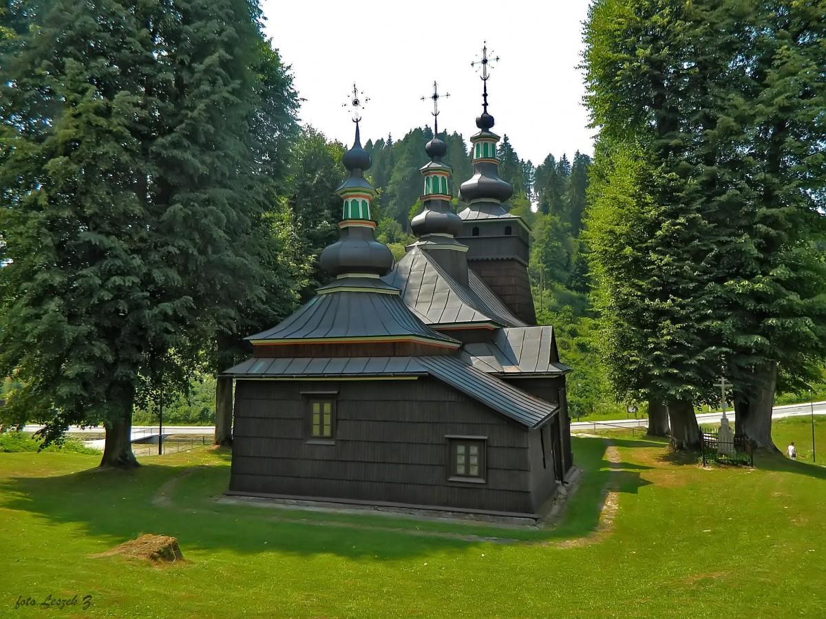 Zdjęcia: gmina Muszyna., pow. nowosądecki., Milik - cerkiew św. św. Kosmy i Damiana., POLSKA