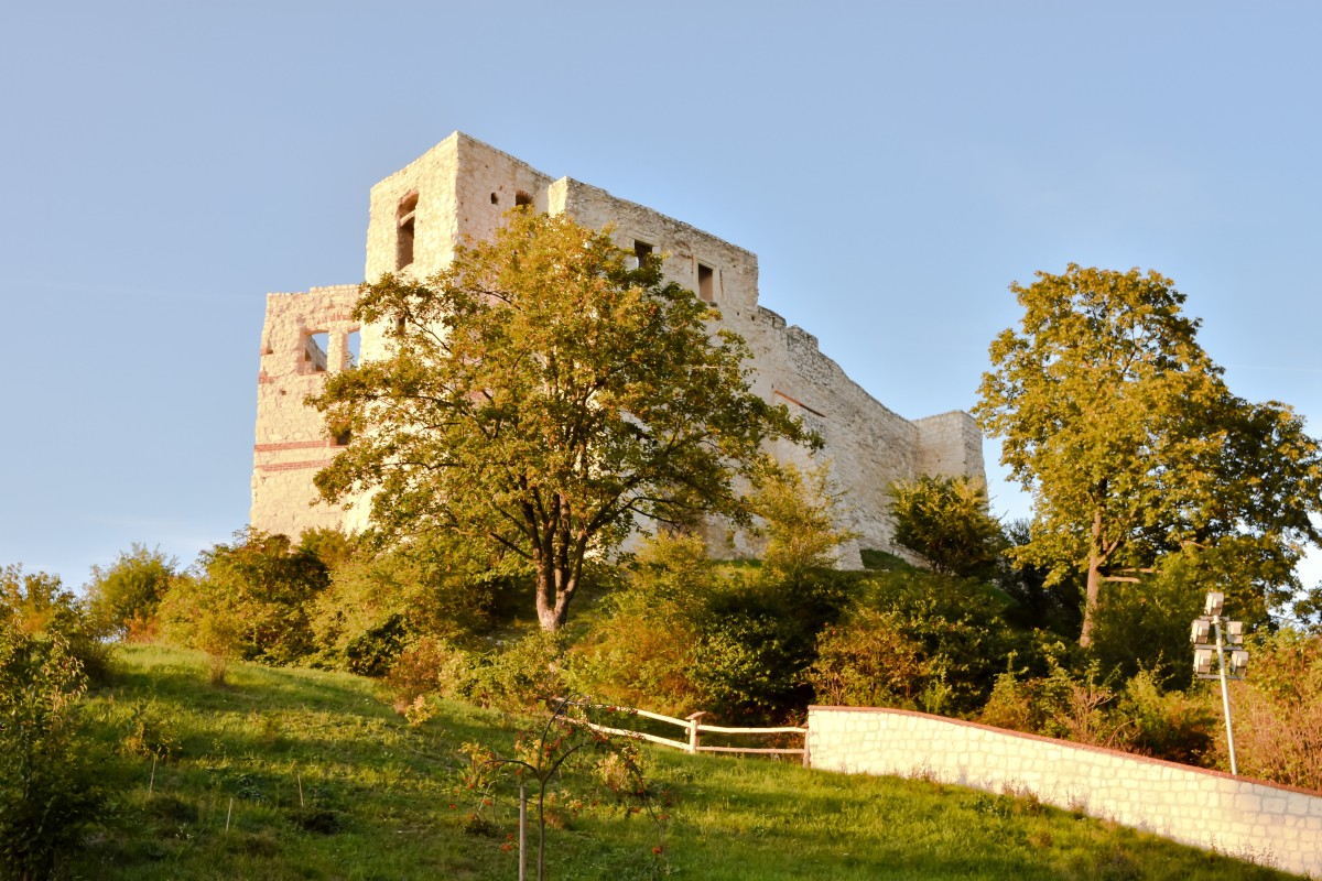 Zdjęcia: Kazimierz Dolny, Małopolska, Zamek w Kazimierzu Dolnym, POLSKA