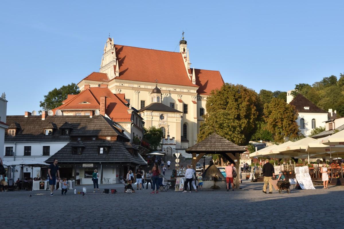 Zdjęcia: Kazimierz Dolny, Małopolska, Kościół św Jana Chrzciciela i św. Bartłomieja w Kazimierzu, POLSKA