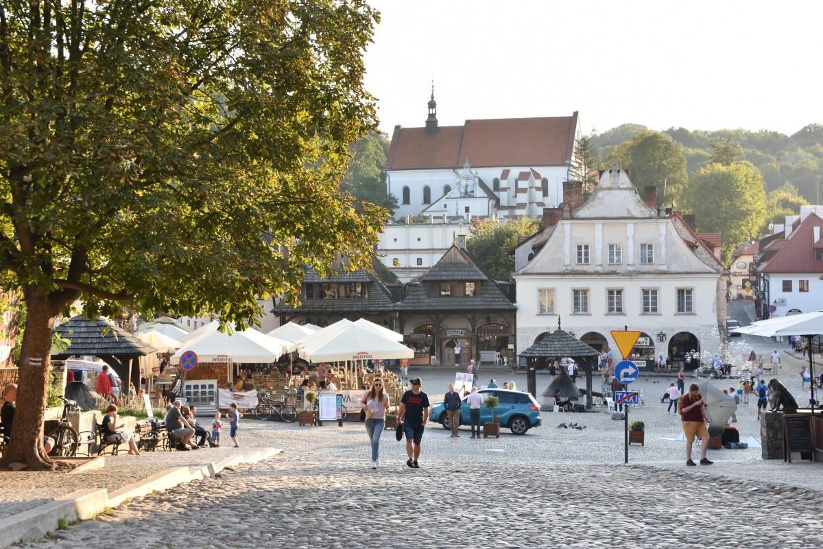 Zdjęcia: Kazimierz Dolny, Małopolska, Rynek w Kazimierzu, POLSKA