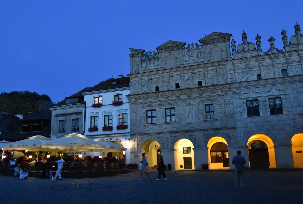 Zdjęcia: Kazimierz Dolny, Małopolska, Kamienice w Kazimierzu, POLSKA
