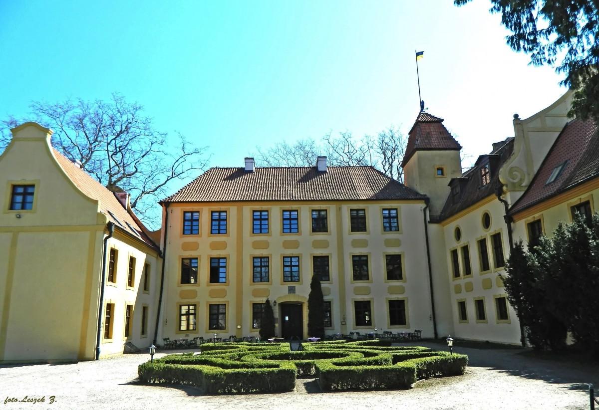 Zdjęcia: pow. Puck., woj.pomorskie., Krokowa - XIV w. zamek., POLSKA