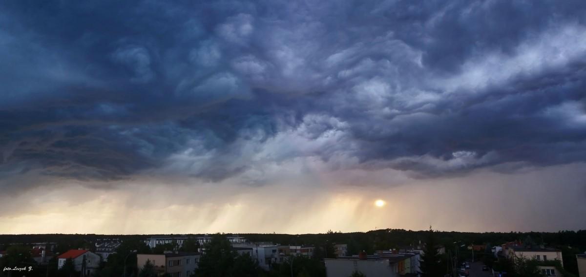 Zdjęcia: Iława., warmińsko-mazurskie, Widok z balkonu., POLSKA