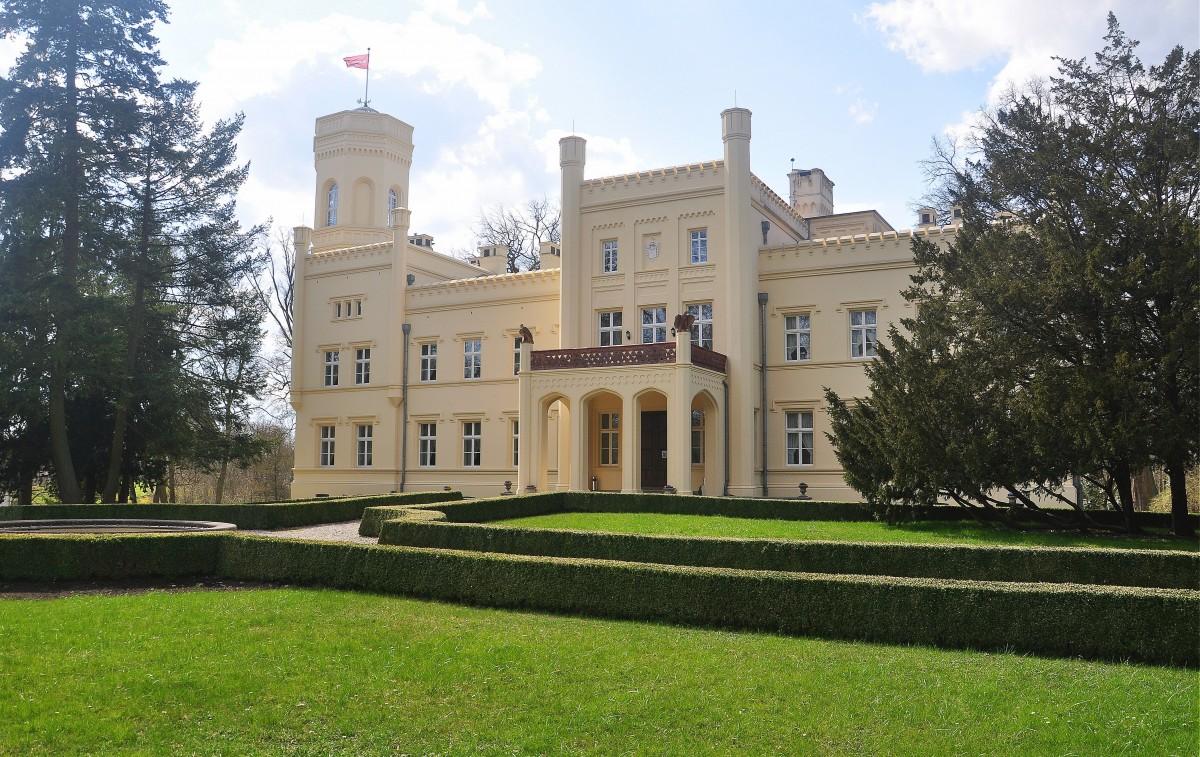 Zdjęcia: Mierzęcin, lubuskie, Pałac w Mierzęcinie , POLSKA