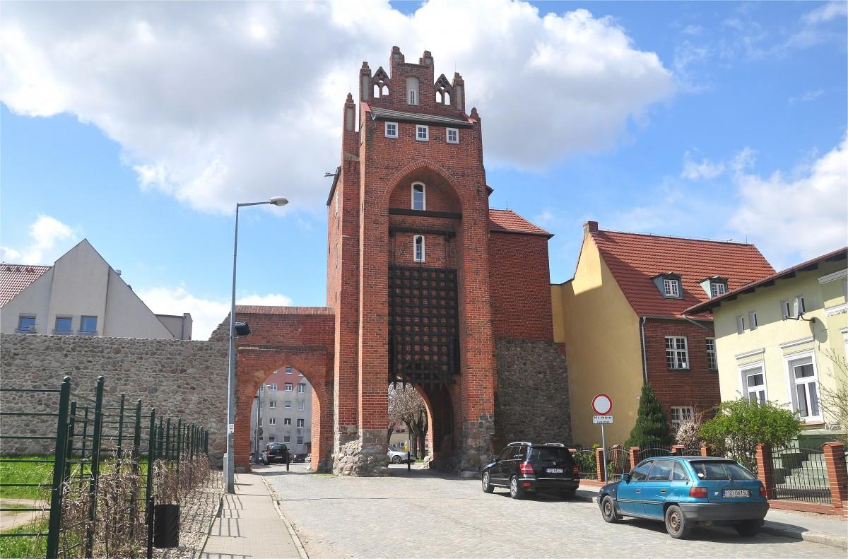 Zdjęcia: Strzelce Krajeńskie, lubuskie, Brama Młyńska w Strzelcach Krajeńskich, POLSKA
