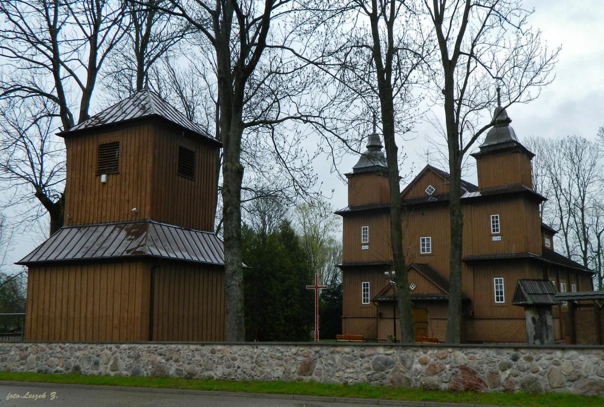 Zdjęcia: pow. hajnowski., woj.podlaskie., Narew - kościół Wniebowzięcia NMP i św. Stanisław Biskupa i Męczennik., POLSKA