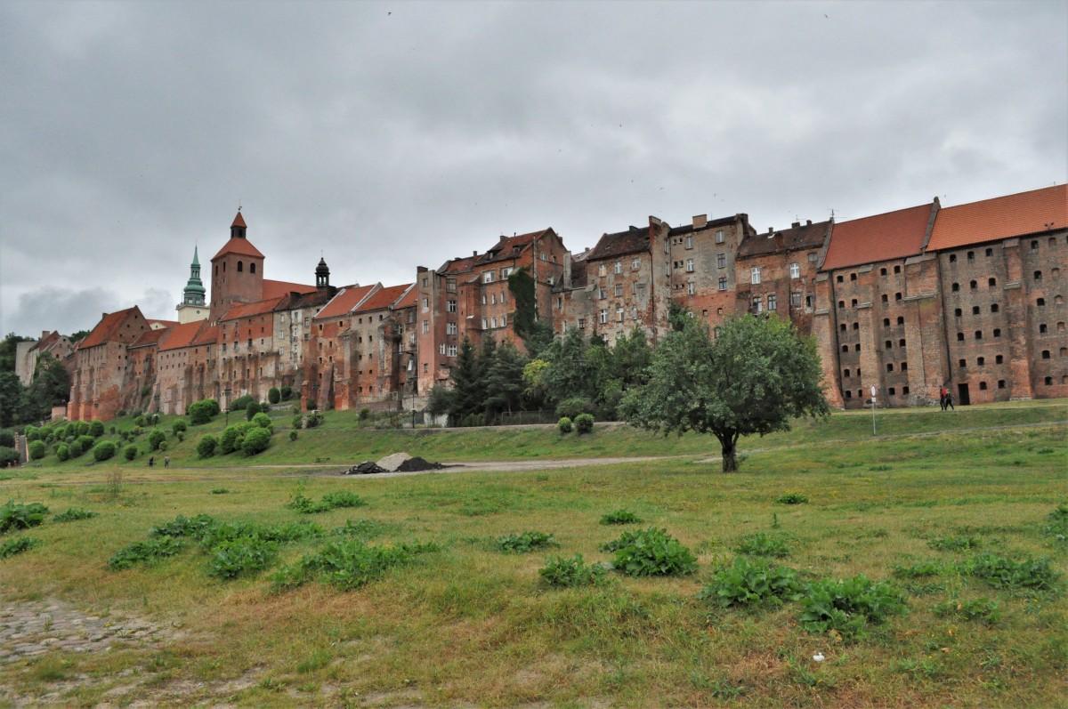 Zdjęcia: Grudziądz, Kujawsko Pomorskie, Grudziądz, panorama, POLSKA