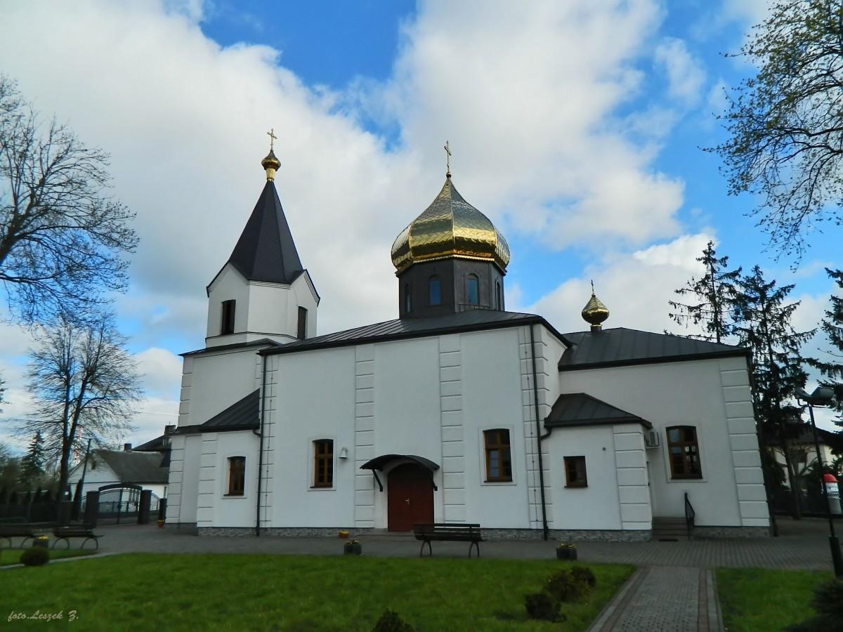 Zdjęcia: pow.bielski., woj.podlaskie., Bielsk Podlaski - cerkiew katedralna Zmartwychwstania Pańskiego., POLSKA