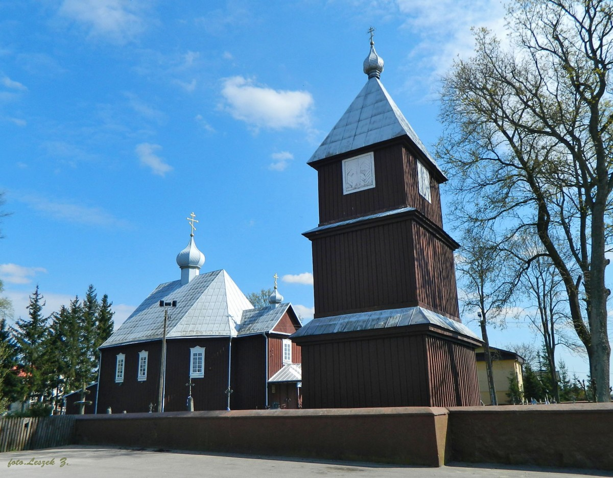 Zdjęcia: pow.bielski., woj.podlaskie., Orla - cerkiew św. Michała Archanioła., POLSKA