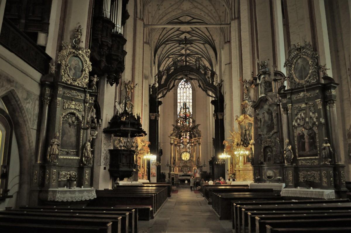 Zdjęcia: Toruń, Kujawsko Pomorskie, Toruń, kościół pofranciszkański, POLSKA
