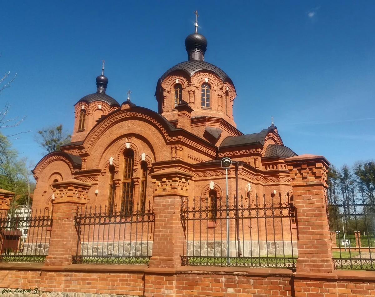 Zdjęcia: Białowieża., woj.podlaskie., Białowieża - cerkiew św. Mikołaja 3., POLSKA