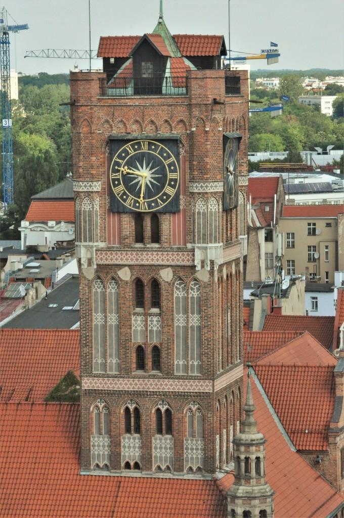 Zdjęcia: Toruń, Kujawsko Pomorskie, Toruń, wieża ratuszowa, POLSKA