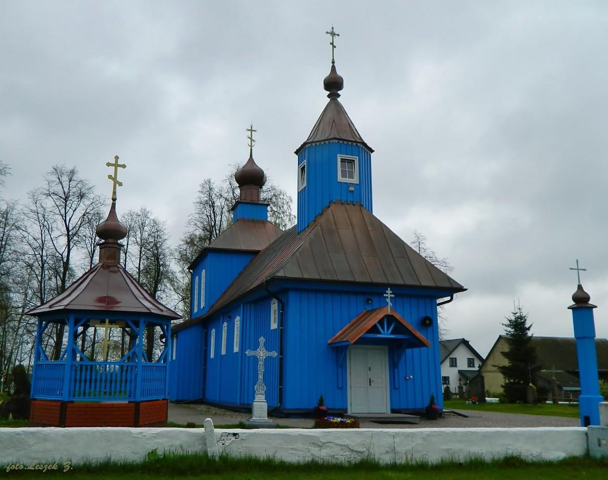 Zdjęcia: pow.bielski., woj.podlaskie., Ploski - Cerkiew Matki Bożej Iwierskiej., POLSKA