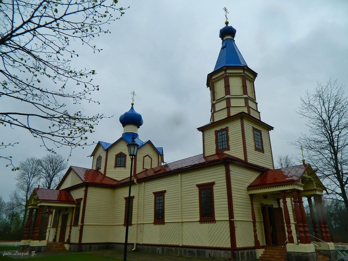 Zdjęcia: pow. hajnowski., woj.podlaskie., Łosinka - cerkiew św. Apostoła Jakuba Alfeusza., POLSKA