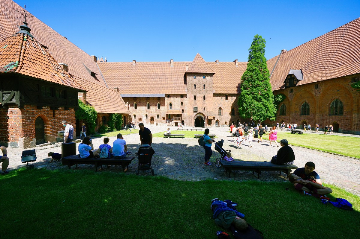Zdjęcia: Gotycki zamek krzyżacki, Malbork, Oblężenie, POLSKA