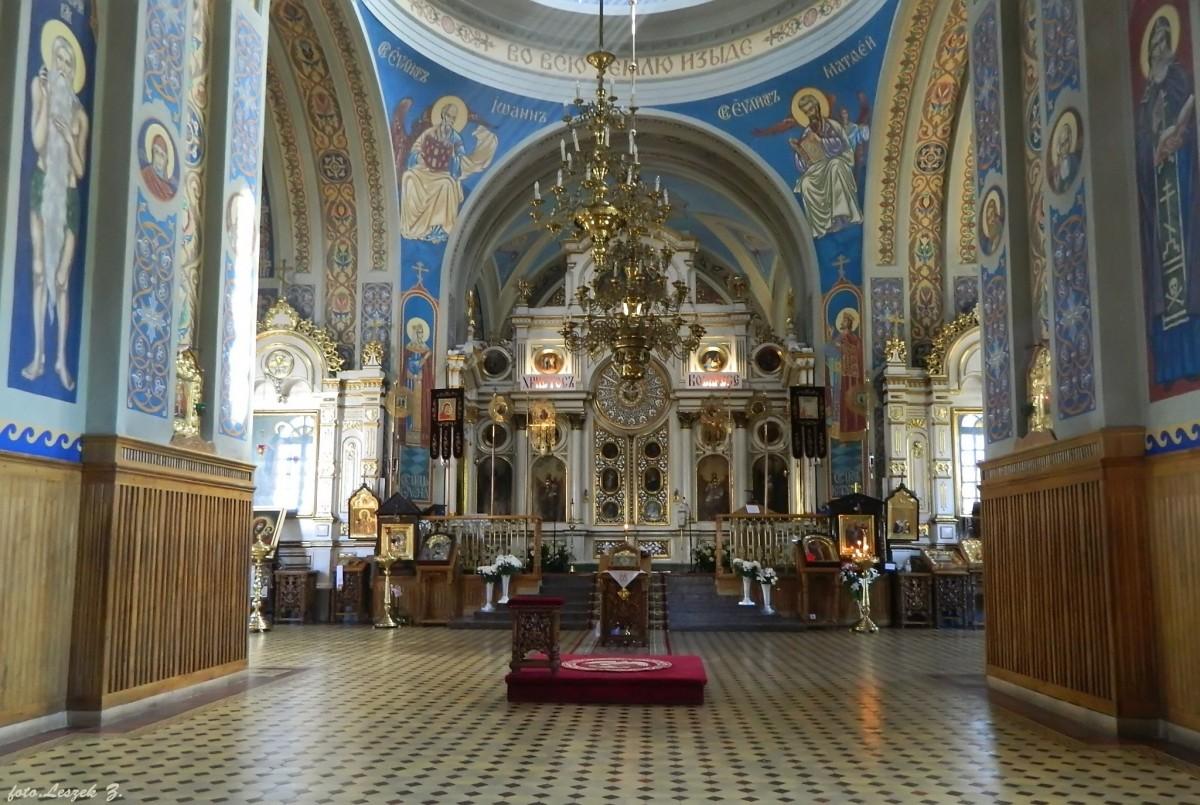 Zdjęcia: Białystok., woj.podlaskie., Białystok - cerkiew św. Mikołaja - wnętrze., POLSKA