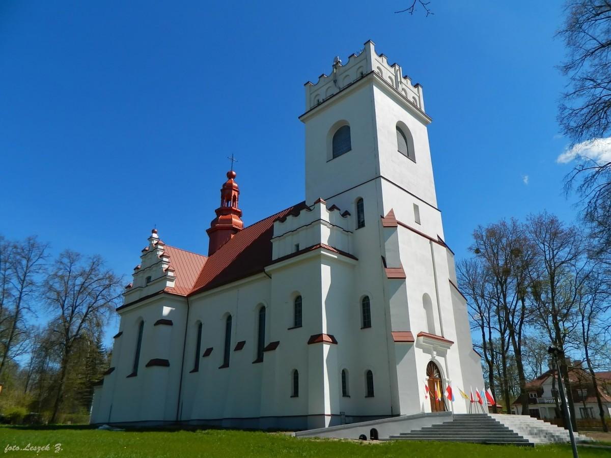 Zdjęcia: Białowieża., woj.podlaskie., Białowieża - kościół św. Teresy od Dzieciątka Jezus., POLSKA