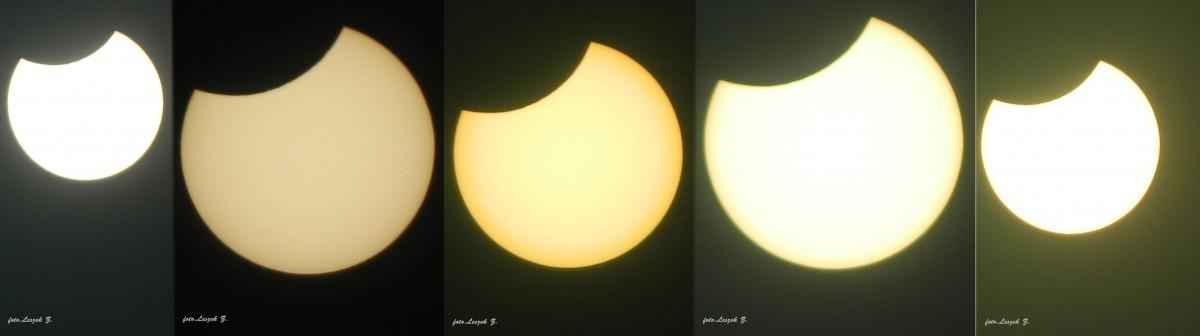 Zdjęcia: Iława., warmińsko-mazurskie, Zaćmienie słońca nad Iławą godz.12,45 - 12,52, POLSKA