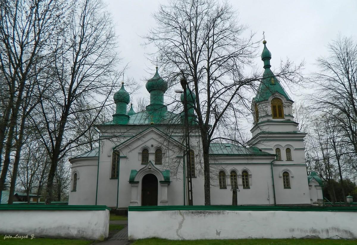Zdjęcia: pow.białostocki., woj.podlaskie., Ryboły - cerkiew świętych Kosmy i Damiana., POLSKA