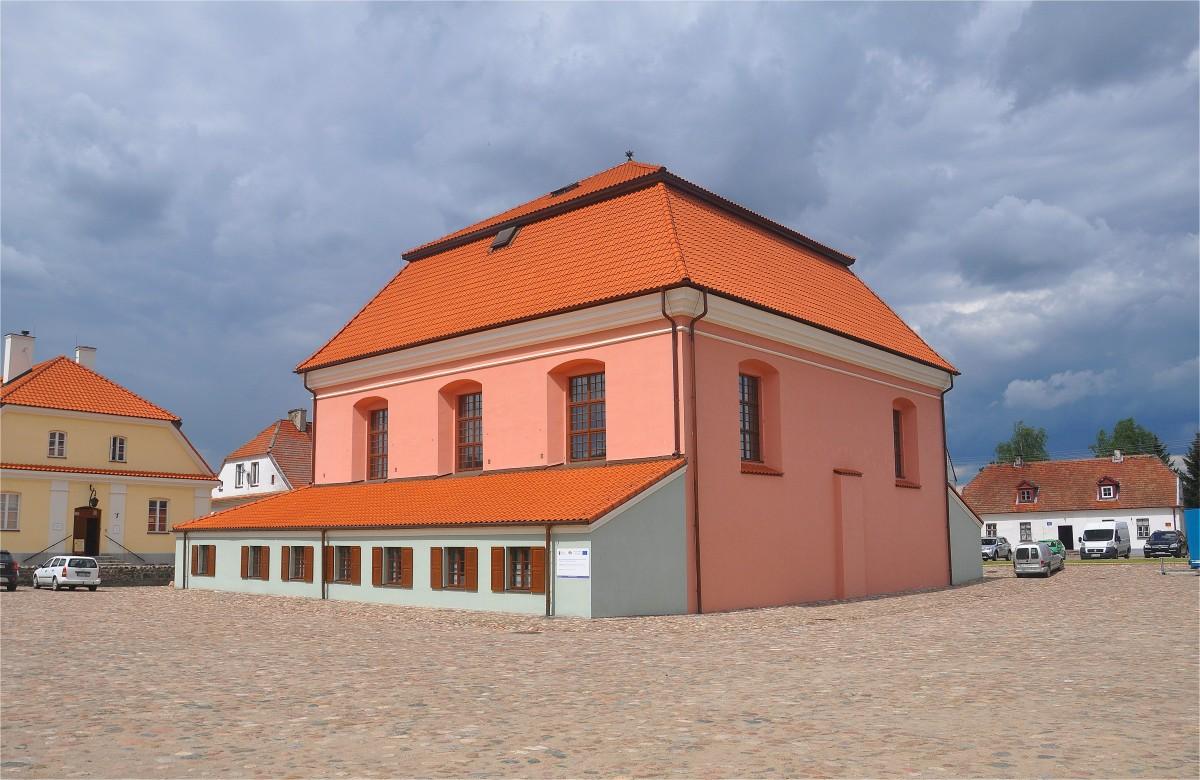 Zdjęcia: Tykocin, podlaskie, Wielka Synagoga w Tykocinie, POLSKA