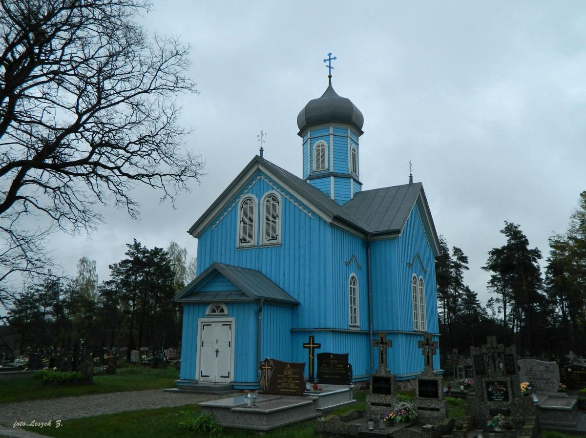 Zdjęcia: pow.białostocki., woj.podlaskie., Ryboły - cerkiew cmentarna św. Jerzego., POLSKA