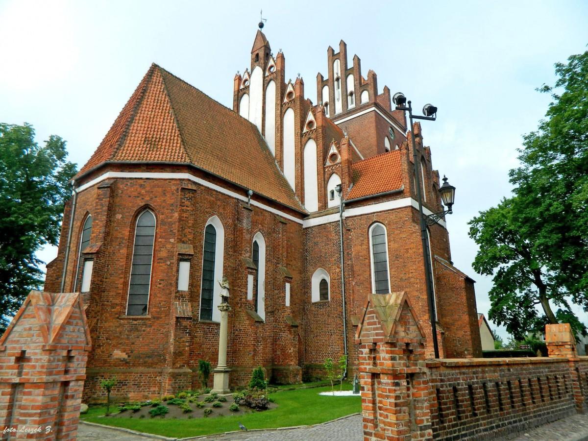 Zdjęcia: pow.tczewski., woj.pomorskie., Gniew - kościół św. Mikołaja., POLSKA