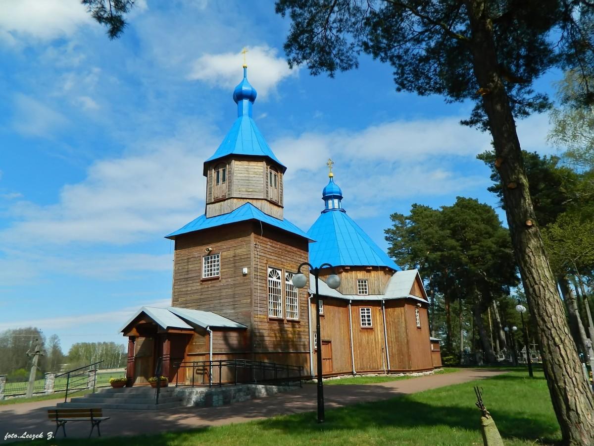 Zdjęcia: pow. hajnowski., woj.podlaskie., Kuraszewo - cerkiew św. Antoniego Pieczerskiego., POLSKA