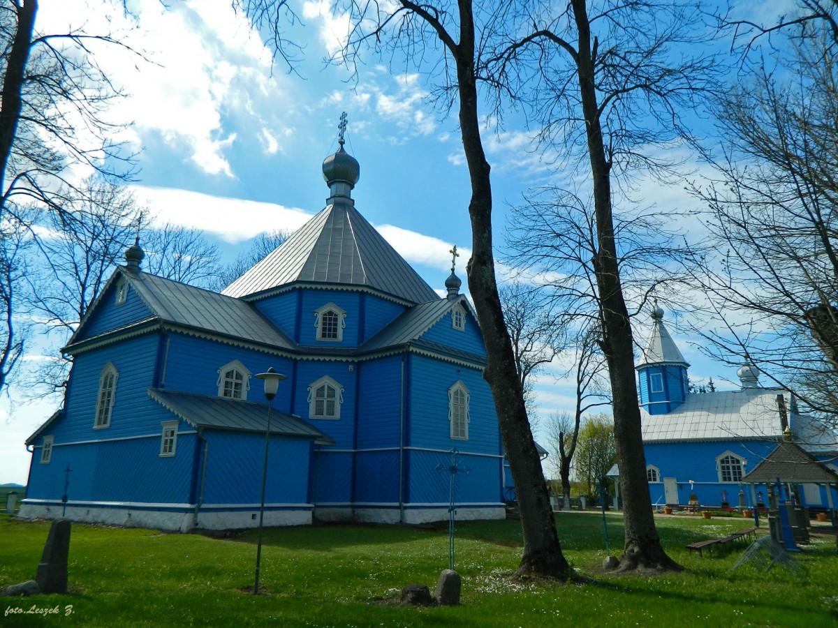 Zdjęcia: pow. hajnowski., woj.podlaskie., Stary Kornin - cerkiew św. Anny i św. Michała., POLSKA