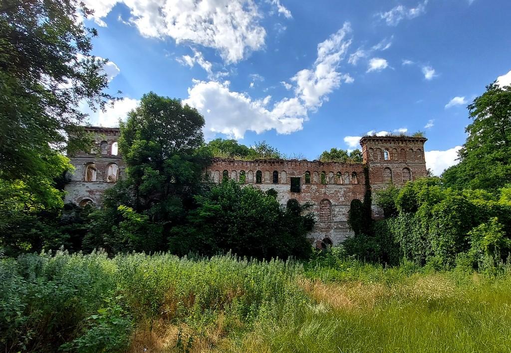 """Zdjęcia: Pisarzowice, opolskie, Ruina młyna typu """"Amerykan"""", POLSKA"""