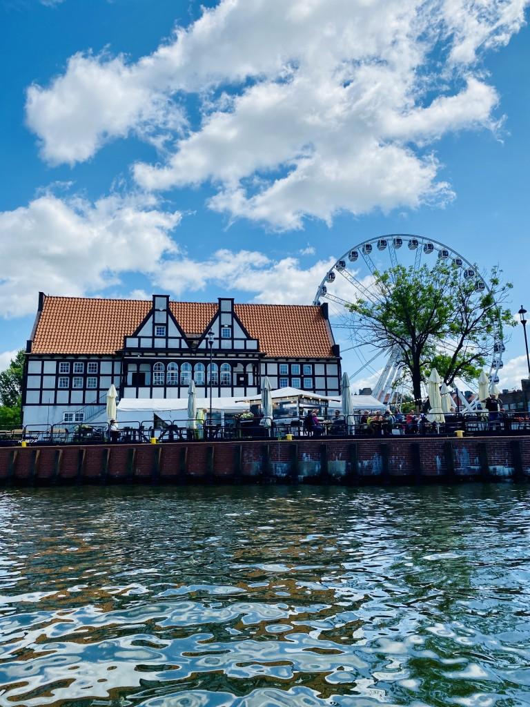 Zdjęcia: Gdansk , Pomorze , Stare Miasto Gdansk z perspektywy wody , POLSKA