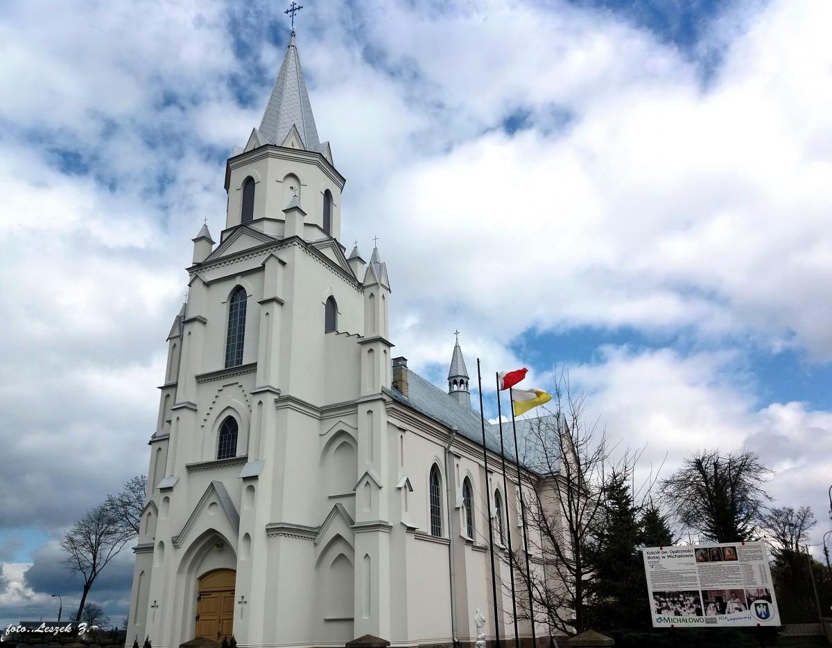 Zdjęcia: pow.białostocki., woj.podlaskie., Michałowo -kościół Opatrzności Bożej., POLSKA
