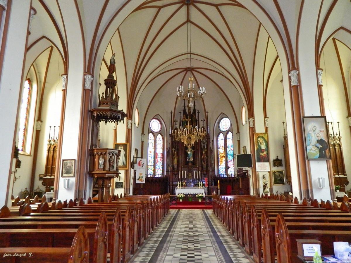 Zdjęcia: pow. sokólski., woj.podlaskie., Krynki - kościół św. Anny - wnętrze., POLSKA