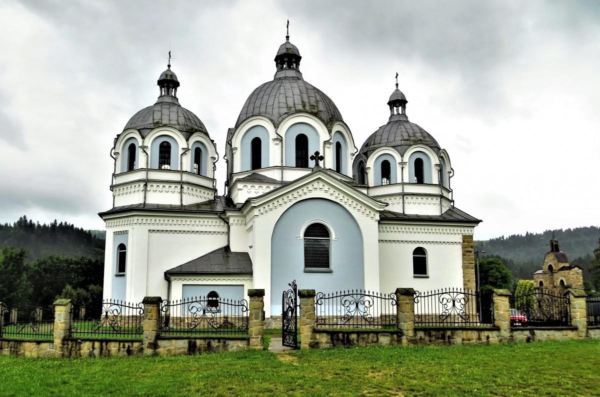 Zdjęcia: Szlachtowa, Pieniny, dawna cerkiew łemkowska..., POLSKA