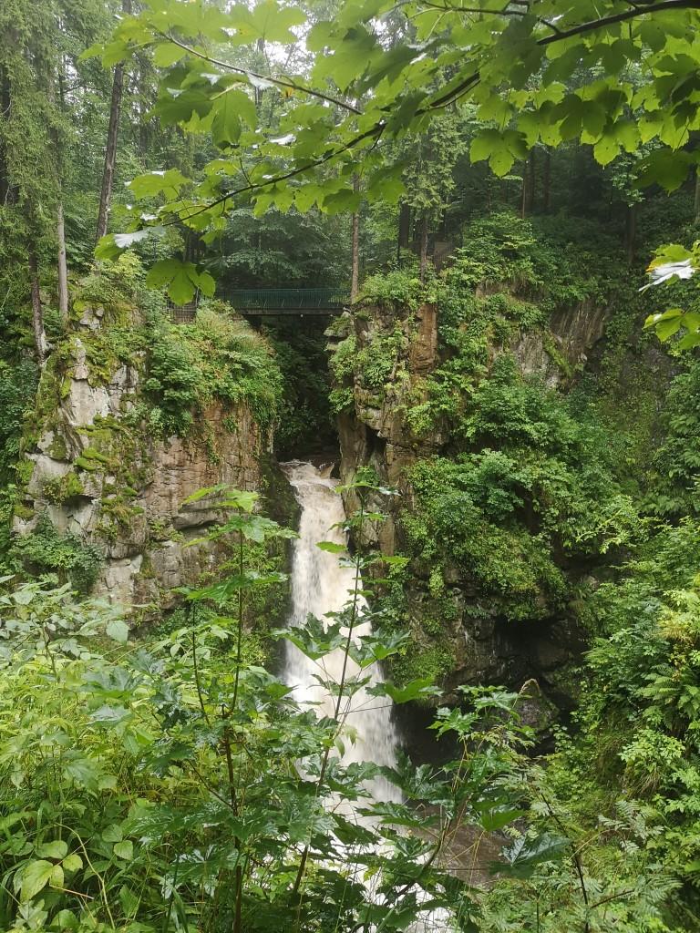 Zdjęcia: Sudety, Wodospad Wilczki, POLSKA