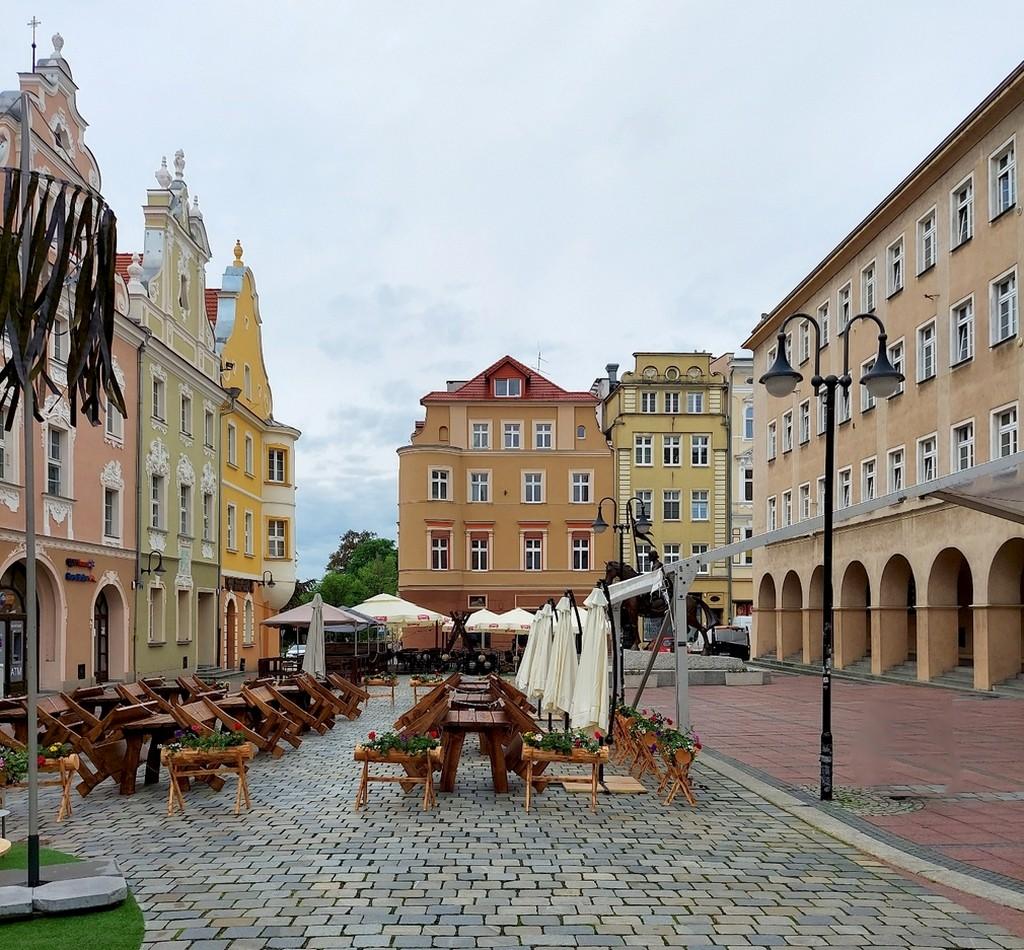 Zdjęcia: Opole, opolskie, Rynek, już po lecie, POLSKA