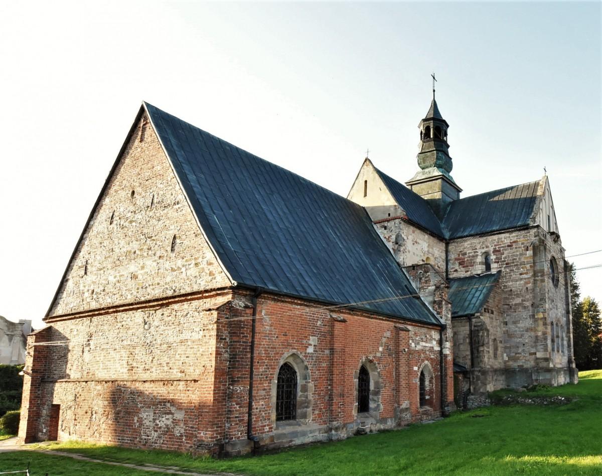 Zdjęcia: Sulejów, Łódzkie, Sulejów, kościół opactwo cystersów, POLSKA