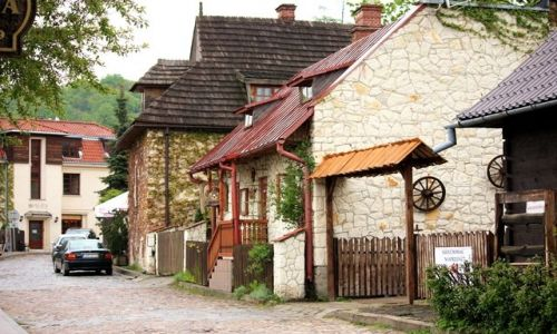 Zdjecie POLSKA / Lubelskie / Kazimierz Dolny / uliczka ...jest w Kazimierzu...