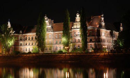 Zdjecie POLSKA / - / Wrocław / Wrocław nocą