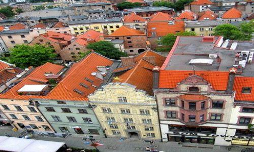 Zdjecie POLSKA / Kujawsko - Pomorskie / Toruń / patrząc z wieży Ratusza