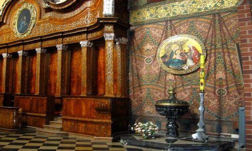 Zdjęcie POLSKA / Warmińsko - Mazurskie / Frombork / w katedrze fromborskiej