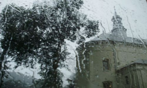 Zdjecie POLSKA / Małopolska / okolice Tylicza / Szklana pogoda
