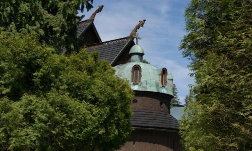 Zdjecie POLSKA / Sudety / Karpacz / Świątynia Wang