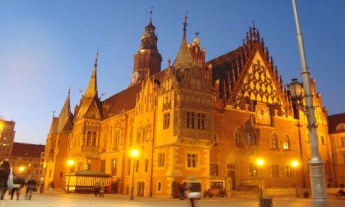 Zdjecie POLSKA / - / Wrocław / Najładniejszy ratusz na północ od Wiednia