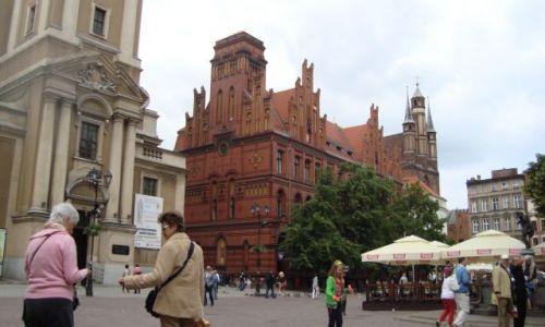 Zdjecie POLSKA / kujawsko - pomorskie / Toruń / Gotyk prawie na dotyk:-)