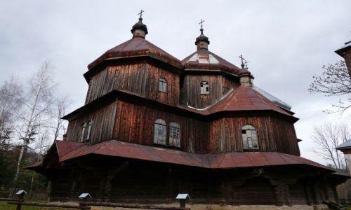 POLSKA / Bieszczady / Bystre / Cerkiew w Bystrem