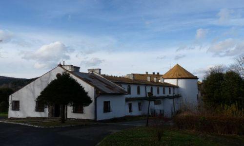 POLSKA / Bieszczady / Lesko / Zamek w lesku