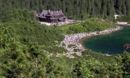 Zdjecie POLSKA / Tatry Wysokie / Dolina Rybiego Potoku / Morskie Oko o 14.38
