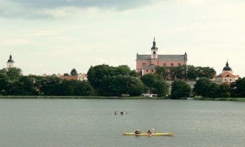 Zdjęcie POLSKA / suwalszczyzna / jez.Wigry / Natura i archirektura